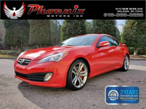 2011 Hyundai Genesis Coupe for sale at Phoenix Motors Inc in Raleigh NC