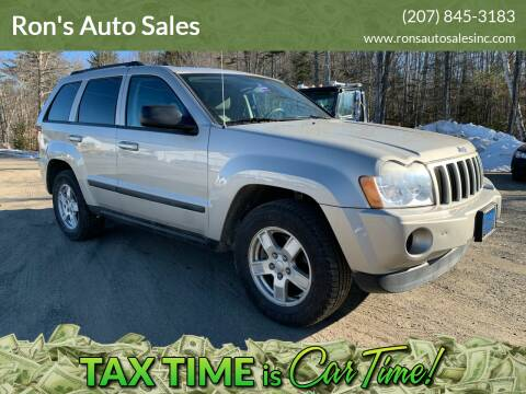 2007 Jeep Grand Cherokee for sale at Ron's Auto Sales in Washington ME