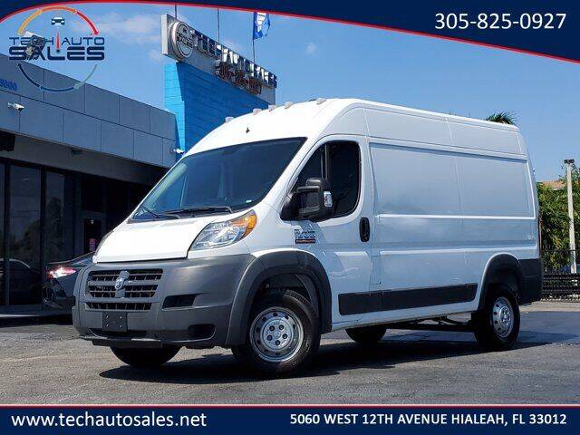 2017 RAM ProMaster Cargo for sale at Tech Auto Sales in Hialeah FL