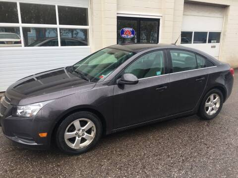 2014 Chevrolet Cruze for sale at Ogden Auto Sales LLC in Spencerport NY