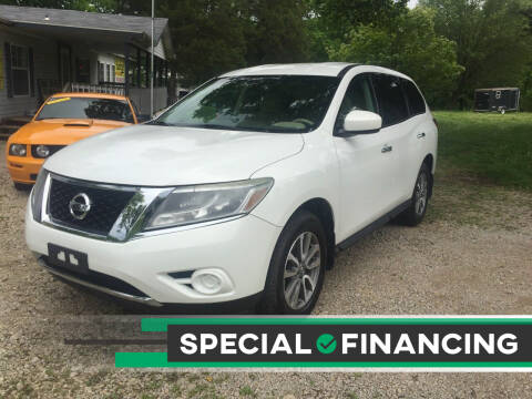 2013 Nissan Pathfinder for sale at Budget Auto Sales in Bonne Terre MO
