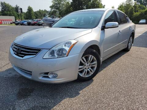 2012 Nissan Altima for sale at Cruisin' Auto Sales in Madison IN