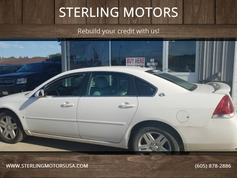 2007 Chevrolet Impala for sale at STERLING MOTORS in Watertown SD