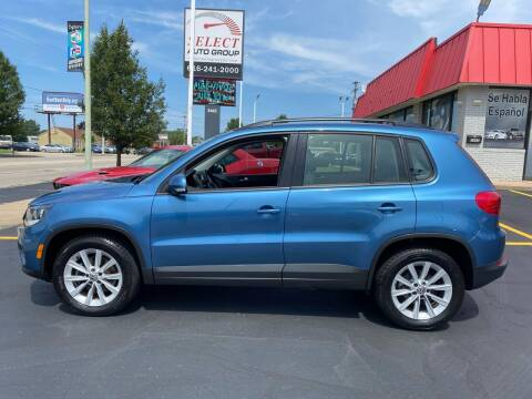 2017 Volkswagen Tiguan for sale at Select Auto Group in Wyoming MI