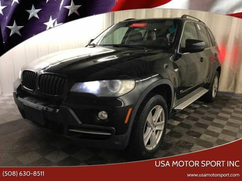 2008 BMW X5 for sale at USA Motor Sport inc in Marlborough MA