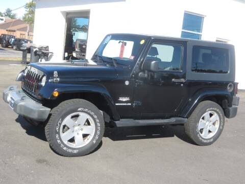 2010 Jeep Wrangler for sale at Price Auto Sales 2 in Concord NH