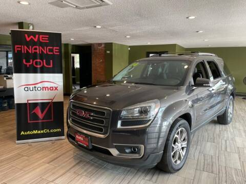 2014 GMC Acadia for sale at AutoMax in West Hartford CT