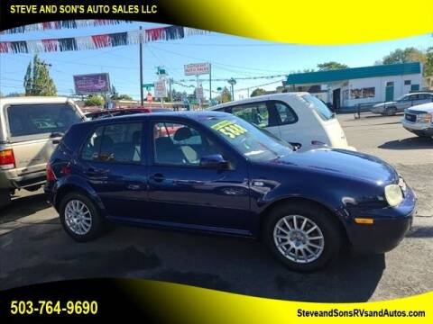 2005 Volkswagen Golf for sale at Steve & Sons Auto Sales in Happy Valley OR