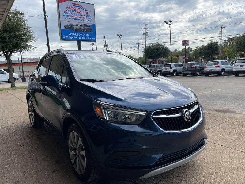 2019 Buick Encore for sale at Magic Auto Sales in Dallas TX