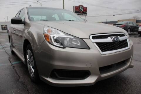 2014 Subaru Legacy for sale at B & B Car Co Inc. in Clinton Twp MI