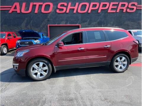 2015 Chevrolet Traverse for sale at AUTO SHOPPERS LLC in Yakima WA