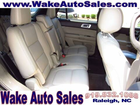 2013 Ford Explorer for sale at Wake Auto Sales Inc in Raleigh NC