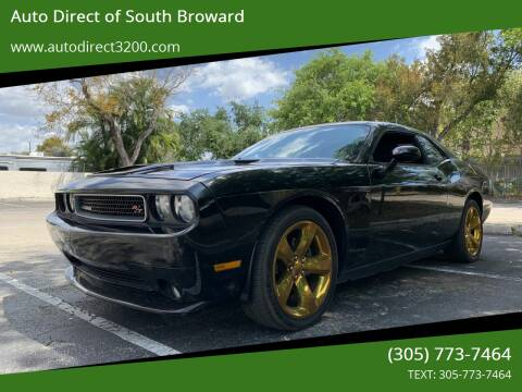 2014 Dodge Challenger for sale at Auto Direct of South Broward in Miramar FL