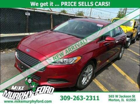 2014 Ford Fusion for sale at Mike Murphy Ford in Morton IL