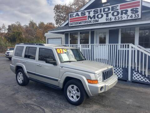 2007 Jeep Commander for sale at EASTSIDE MOTORS in Tulsa OK