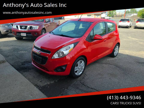 2014 Chevrolet Spark for sale at Anthony's Auto Sales Inc in Pittsfield MA