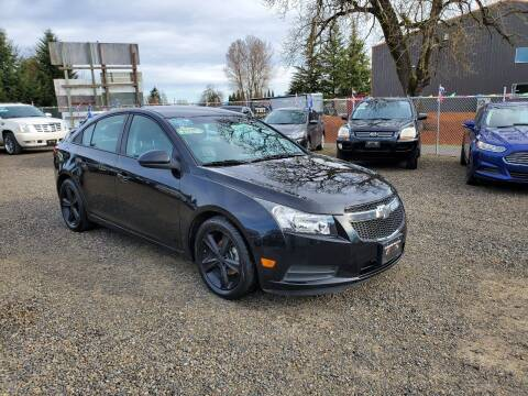2013 Chevrolet Cruze for sale at McMinnville Auto Sales LLC in Mcminnville OR