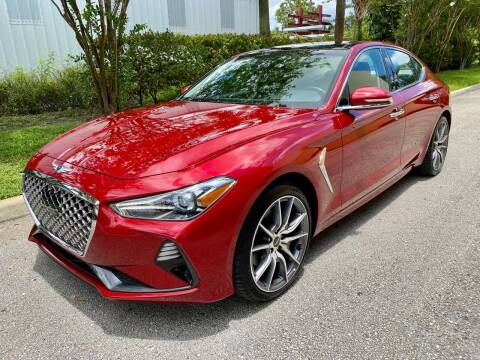 2019 Genesis G70 for sale at DENMARK AUTO BROKERS in Riviera Beach FL