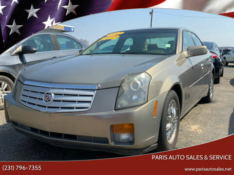 2007 Cadillac CTS for sale at Paris Auto Sales & Service in Big Rapids MI