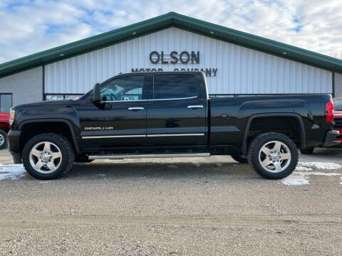 2015 GMC Sierra 2500HD for sale at Olson Motor Company in Morris MN