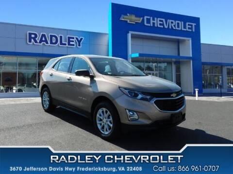 2018 Chevrolet Equinox for sale at Radley Cadillac in Fredericksburg VA