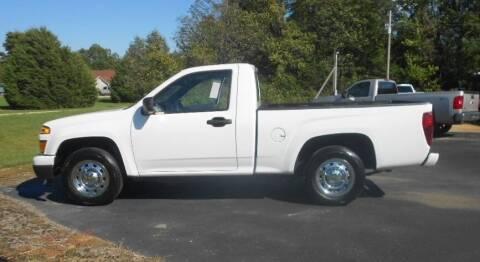 2011 Chevrolet Colorado for sale at KNOBEL AUTO SALES, LLC in Brookland AR
