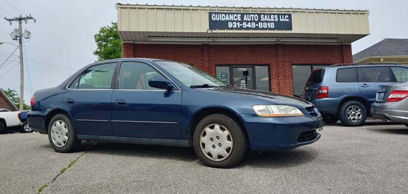 2000 Honda Accord for sale at Guidance Auto Sales LLC in Columbia TN