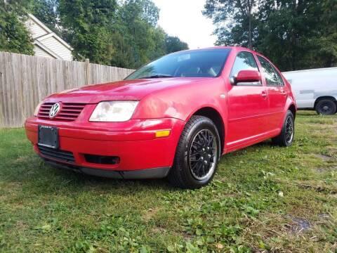 2002 Volkswagen Jetta for sale at ALL Motor Cars LTD in Tillson NY
