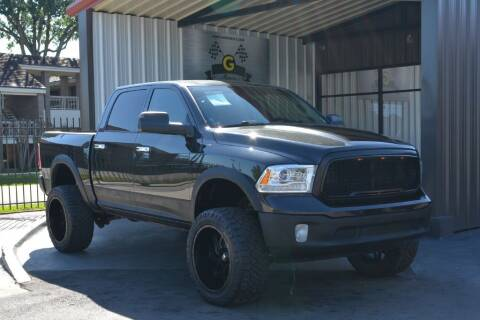 2016 RAM Ram Pickup 1500 for sale at G MOTORS in Houston TX
