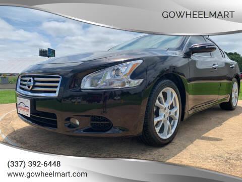 2014 Nissan Maxima for sale at GOWHEELMART in Leesville LA