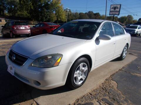 2003 Nissan Altima for sale at High Country Motors in Mountain Home AR