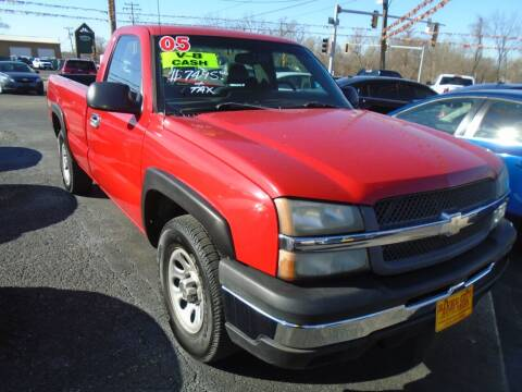 2005 Chevrolet Silverado 1500 for sale at River City Auto Sales in Cottage Hills IL