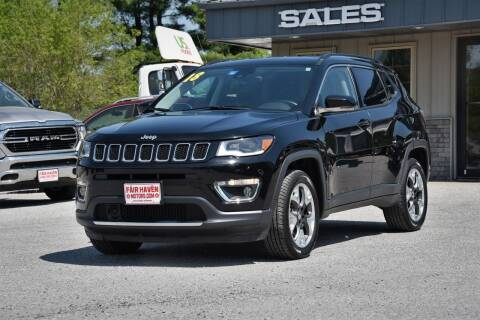 2018 Jeep Compass for sale at Will's Fair Haven Motors in Fair Haven VT