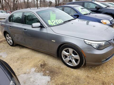 2008 BMW 5 Series for sale at Northwoods Auto & Truck Sales in Machesney Park IL