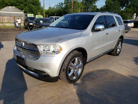 2012 Dodge Durango for sale at AUTOTEX FINANCIAL in San Antonio TX