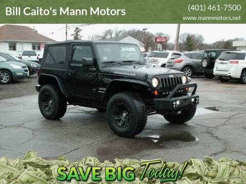 2011 Jeep Wrangler for sale at Bill Caito's Mann Motors in Warwick RI