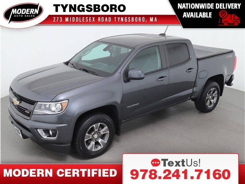 2016 Chevrolet Colorado for sale at Modern Auto Sales in Tyngsboro MA