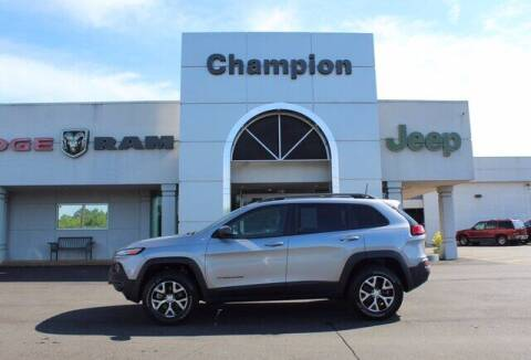 2017 Jeep Cherokee for sale at Champion Chevrolet in Athens AL