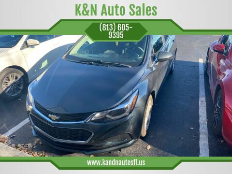 2018 Chevrolet Cruze for sale at K&N Auto Sales in Tampa FL