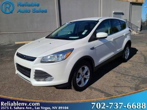 2014 Ford Escape for sale at Reliable Auto Sales in Las Vegas NV