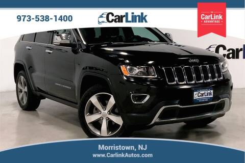 2015 Jeep Grand Cherokee for sale at CarLink in Morristown NJ
