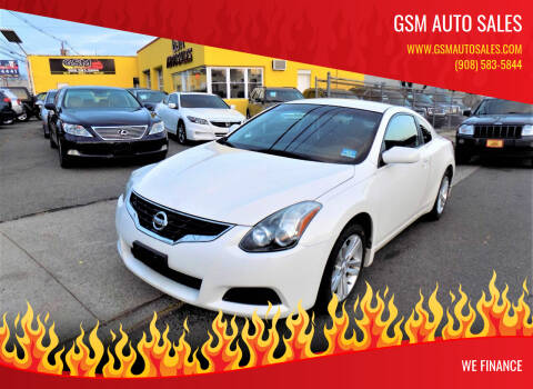 2012 Nissan Altima for sale at GSM Auto Sales in Linden NJ