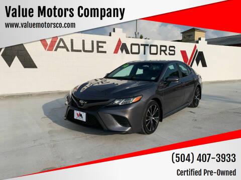 2018 Toyota Camry for sale at Value Motors Company in Marrero LA