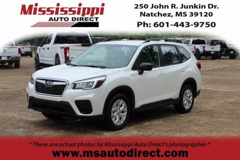 2020 Subaru Forester for sale at Auto Group South - Mississippi Auto Direct in Natchez MS