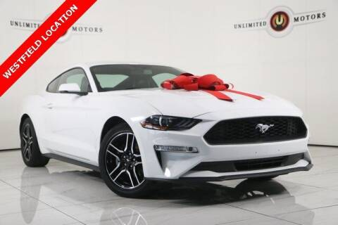 2018 Ford Mustang for sale at INDY'S UNLIMITED MOTORS - UNLIMITED MOTORS in Westfield IN