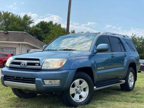 2004 Toyota 4Runner for sale at Texas Select Autos LLC in Mckinney TX