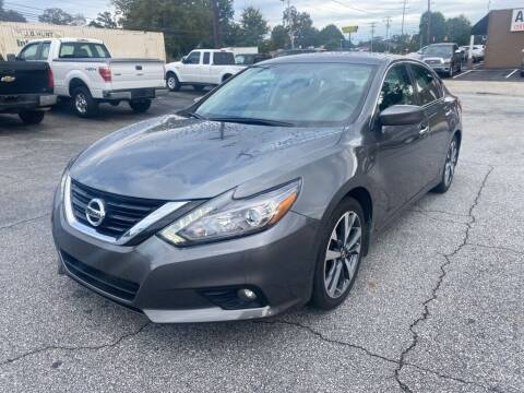 2016 Nissan Altima for sale at Brewster Used Cars in Anderson SC