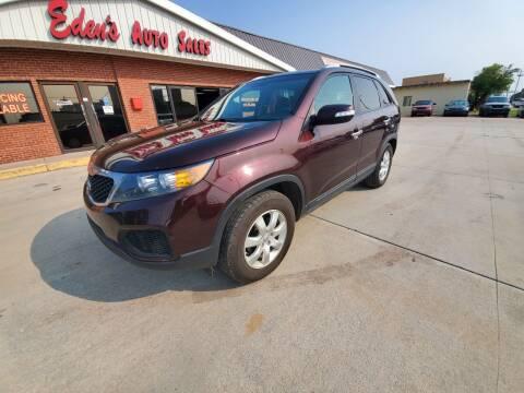 2013 Kia Sorento for sale at Eden's Auto Sales in Valley Center KS