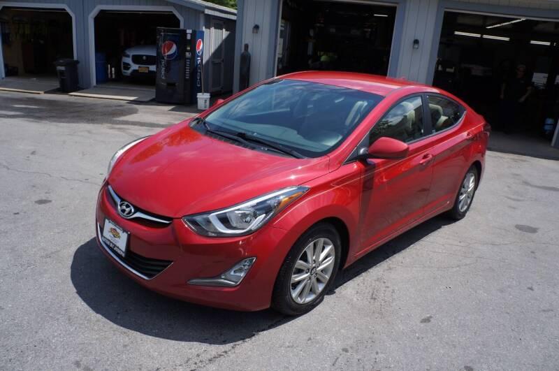 2014 Hyundai Elantra for sale at Autos By Joseph Inc in Highland NY