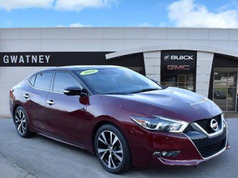 2018 Nissan Maxima for sale at DeAndre Sells Cars in North Little Rock AR
